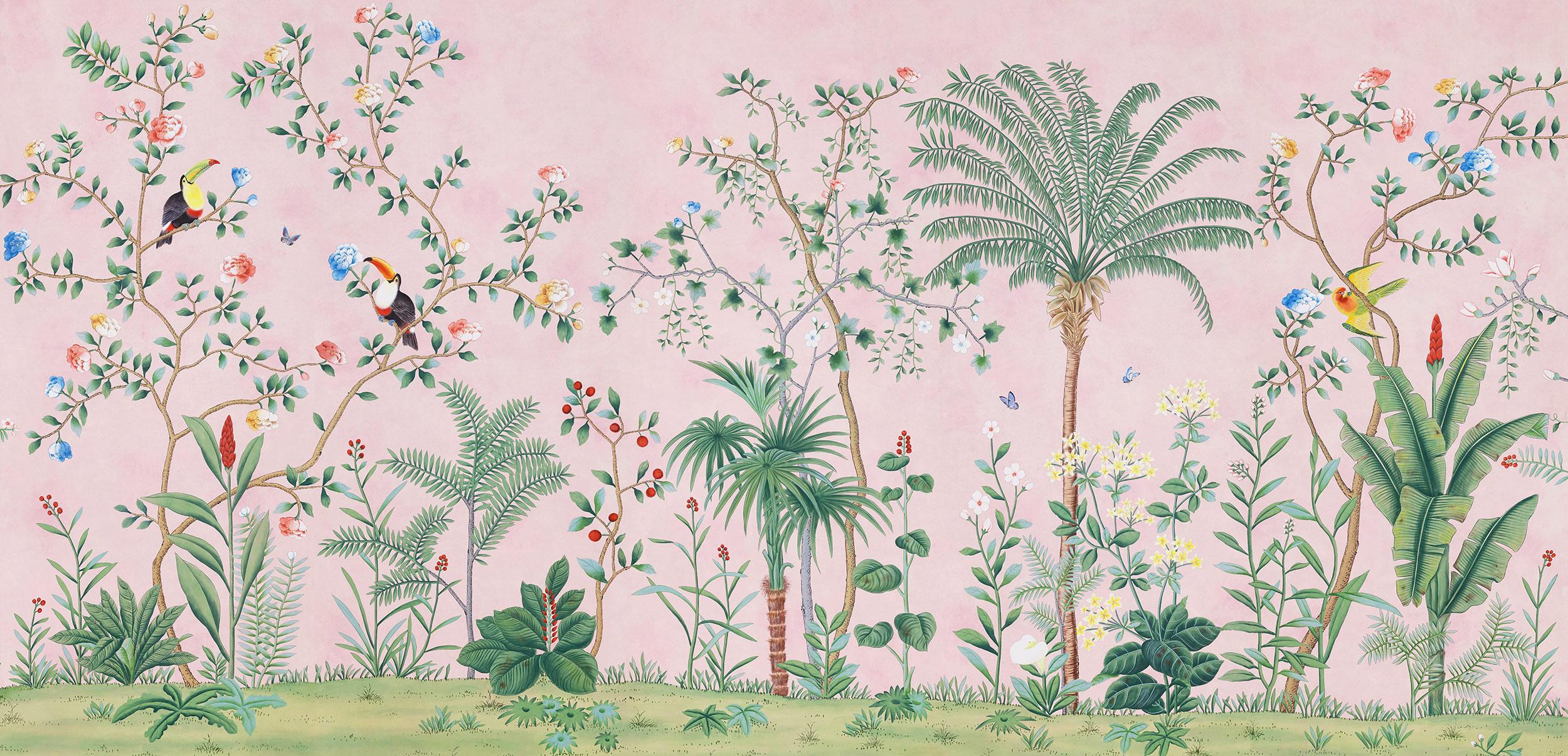 Standard on Edo Chalk Pink Xuan paper