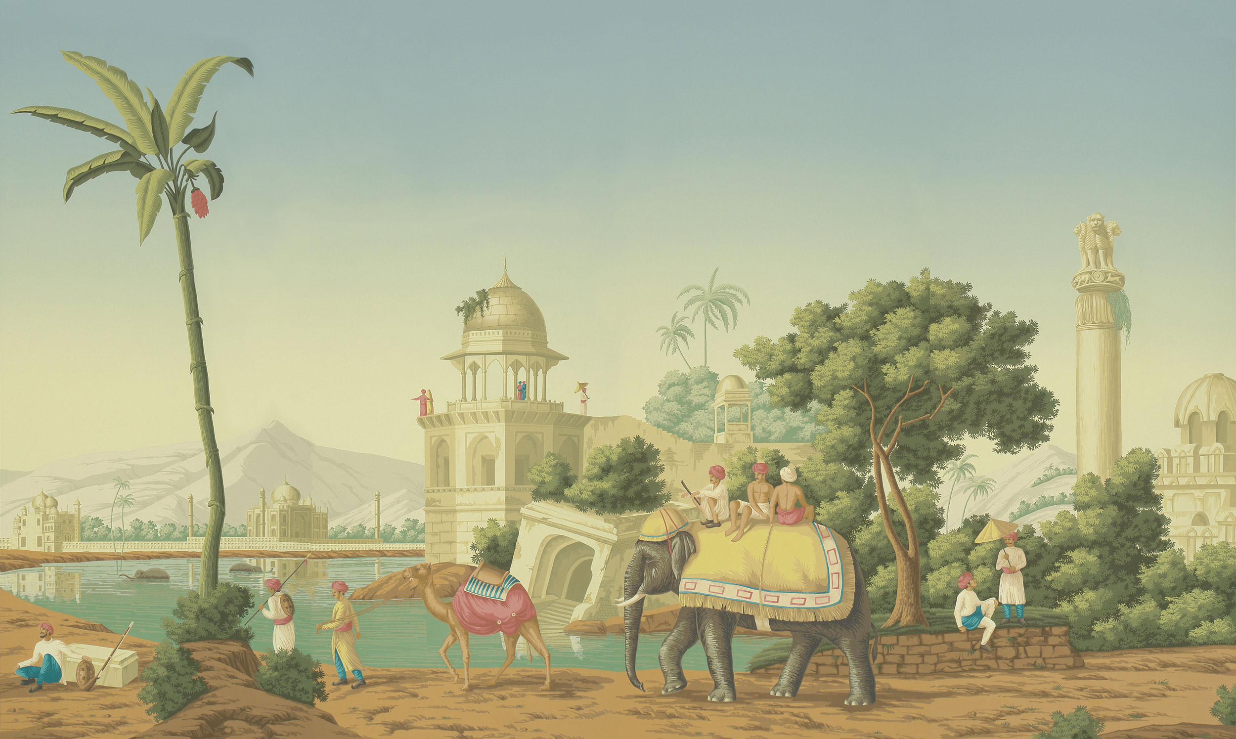 Verdoyant on scenic paper