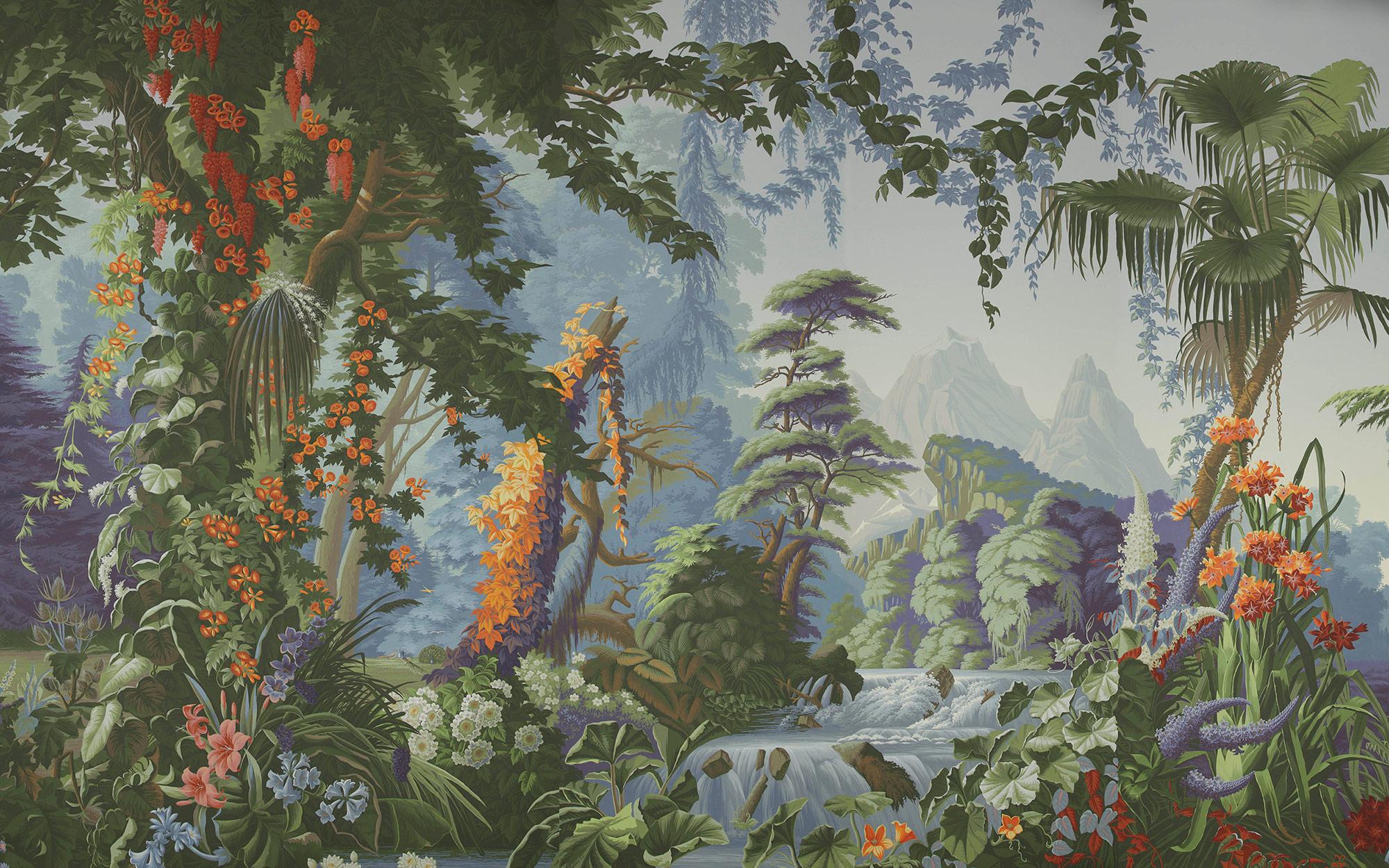 Eden on scenic paper