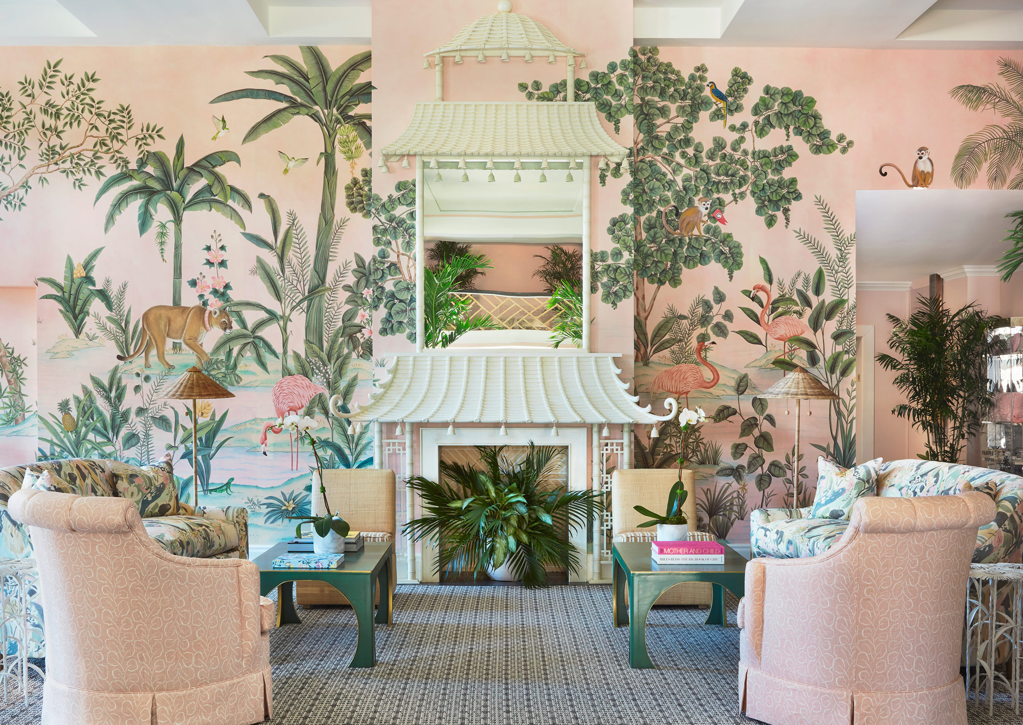 de Gournay at the Colony Hotel, Palm Beach