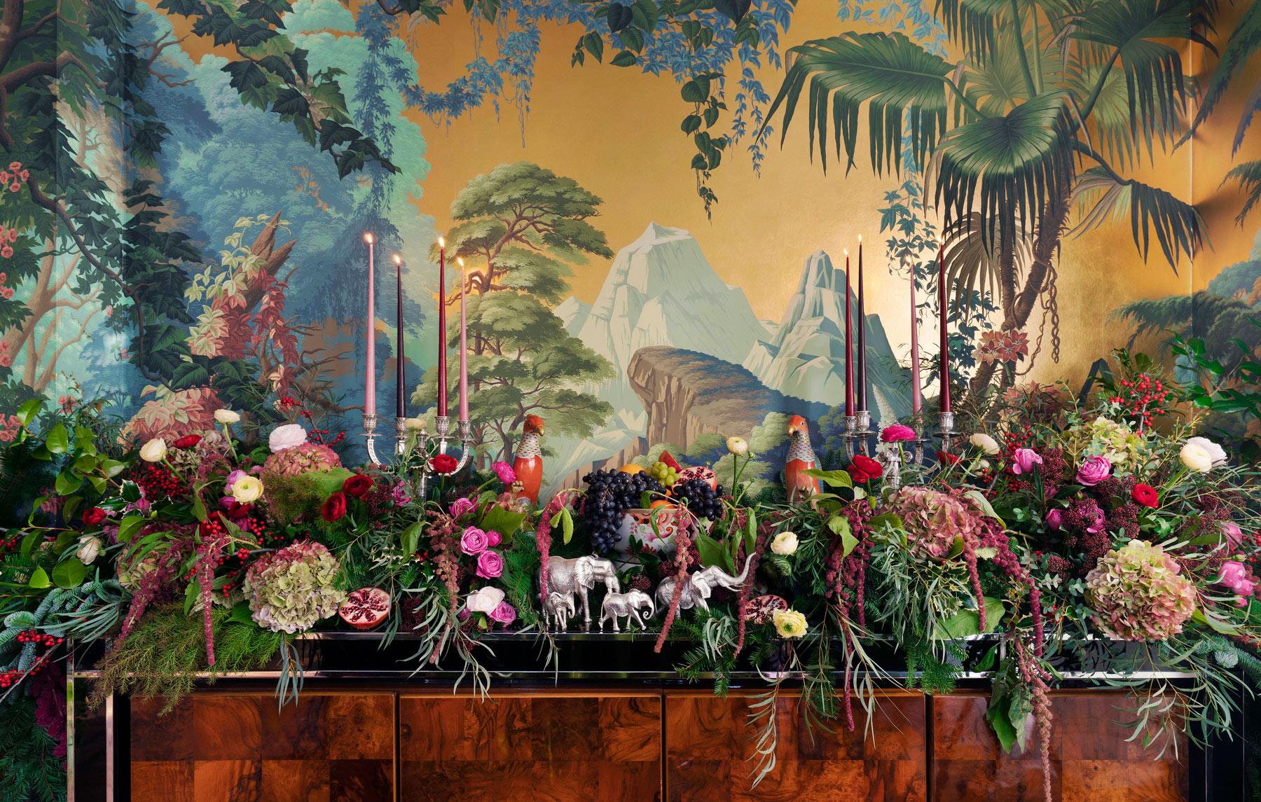 Flora Britannica Dinner Service and Figurines