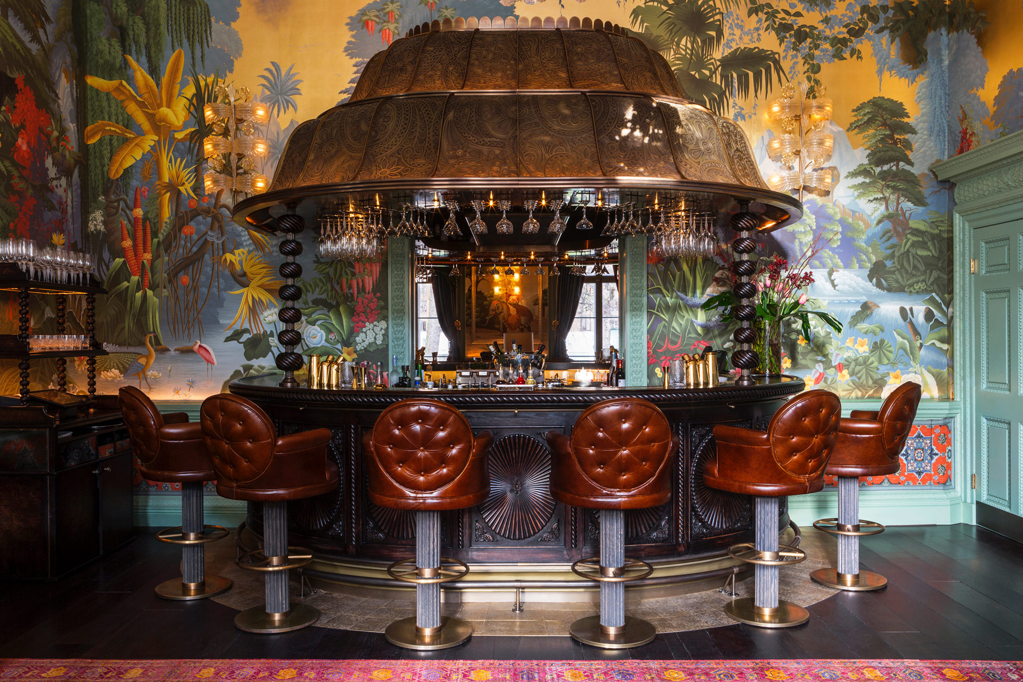 de Gournay at Annabel's