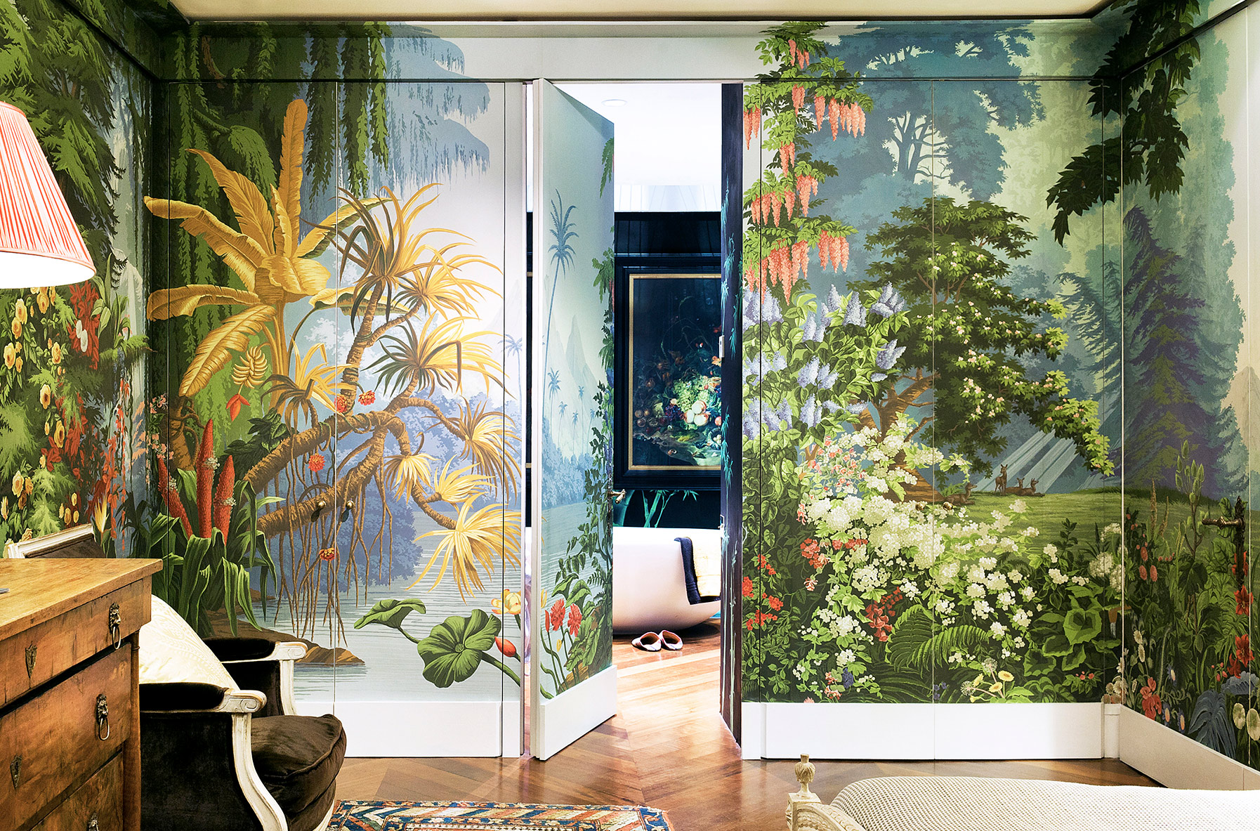 Collections De Gournay,Rose Beautiful Flower Images Hd